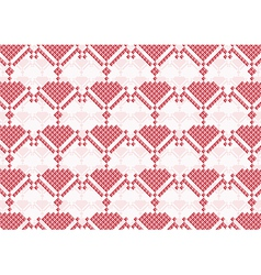 background of pink flowers pixel vector image vector image