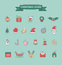 Christmas 08 08 vector image vector image