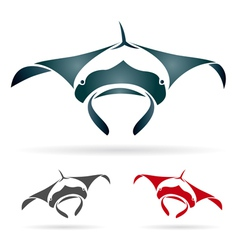 stingray vector image vector image