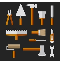 Tools Set for Home Repair vector image