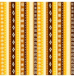Yellow Striped Seamless vector image