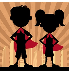 Super Kids 2 vector image