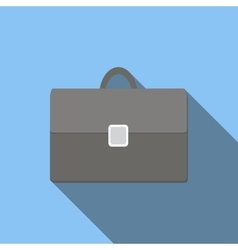 Briefcase flat icon vector