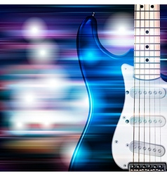 Abstract blue white music background with electric vector