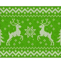 Sweater with deer vector image