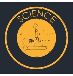 Science icons design vector