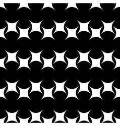 Rhombus black seamless pattern vector