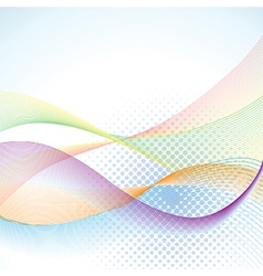 Abstract blended background vector image