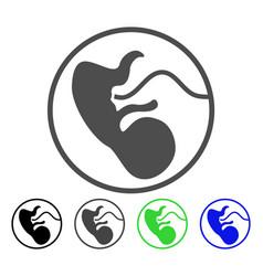 Prenatal icon vector
