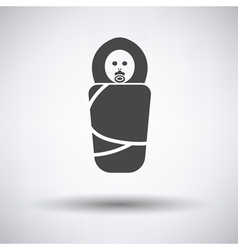 Wrapped infand icon vector image vector image