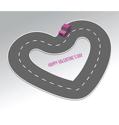 Highway of love vector
