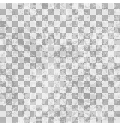 Grunge checkered seamless pattern vector image