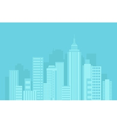Urban blue background vector