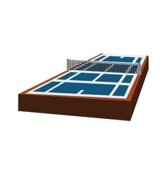 Tennis league icon sport concept graphic vector