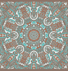 seamless pattern tribal background vector image