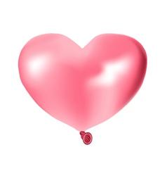 pink air ball vector image