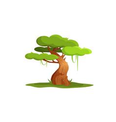Character tree vector