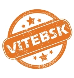 Vitebsk rubber stamp vector