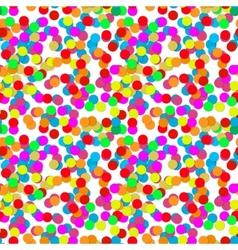 Confetti party design seamless pattern vector image