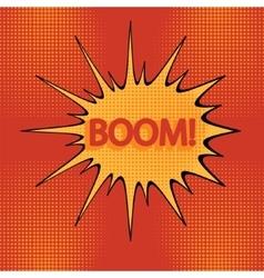 Cartoon boom-1 vector