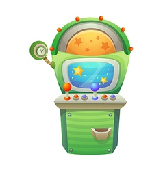 icon game machine vector image