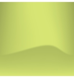 Abstract green background with wavy shadow in the vector image vector image