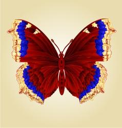 Butterfly nymphalis antiopa beautiful mountain vector