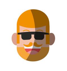 Happy smiling man icon imag vector