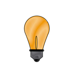 Light bulb idea creativity innovation think vector