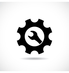Maintenance symbol vector image vector image