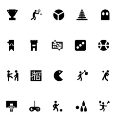 Video game icons 2 vector