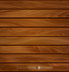 wood background of brown wooden planks vector image