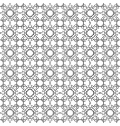 Floral seamless delicate pattern background vector