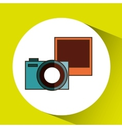 Camera retro design vector