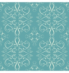 Vintage flower seamless pattern floral designed vector