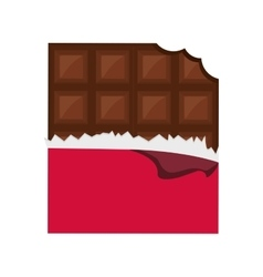 Chocolate icon dessert design graphic vector