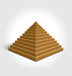 Egyptian Pyramid vector image