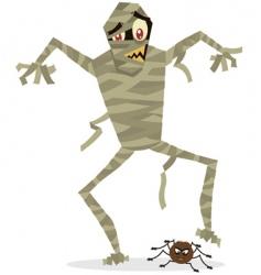 mummy Halloween vector image vector image