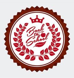 School emblem vector