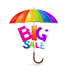 Big sale title vector