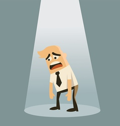 Business failure concept vector