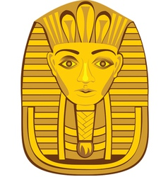 Golden pharaoh vector