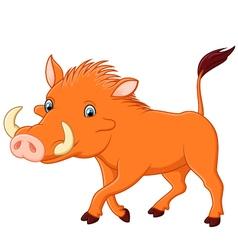 Cartoon warthog vector