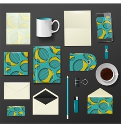 Company corporate style template design vector