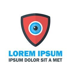 Security Shield Logo vector image vector image