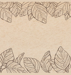 Vintage old paper texture background with vector