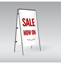 Sandwich board isolated vector