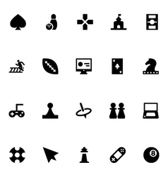 Video Game Icons 3 vector image