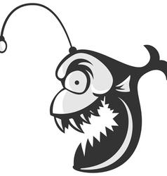 Angler Fish Logo vector image