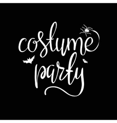 Costume party background vector